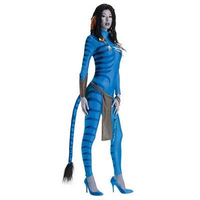 Avatar Neytiri maskeraddräkt