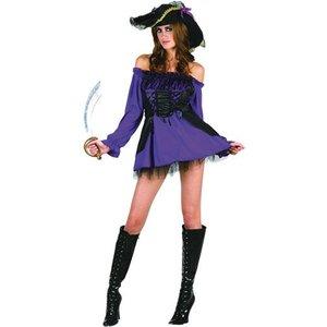 Piratprinsessa maskeraddräkt