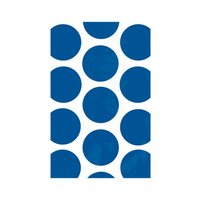 Godispåse med blå prickar - 10 st
