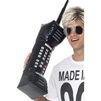 Uppblåsbar retro mobiltelefon