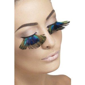 Påfågel ögonfransar