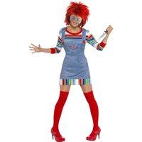 Chucky, den onda dockan maskeraddräkt - damstorlekar