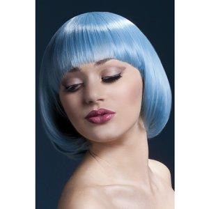 Mia peruk kort blå
