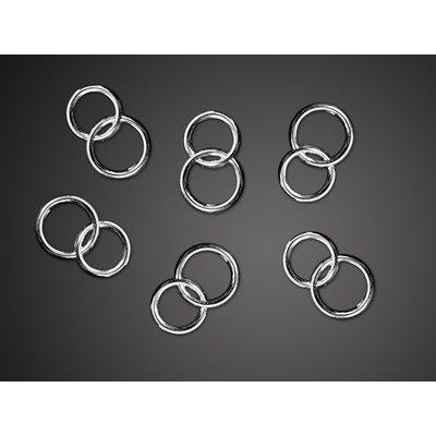 Bröllopsringar - Silver 25 st