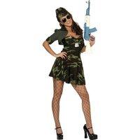 Militär babe maskeraddräkt