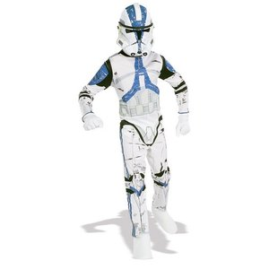 Clone Trooper maskeraddräkt barn