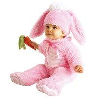 Kanin maskeraddräkt rosa