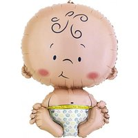 Folieballong - Welcome Baby Shape