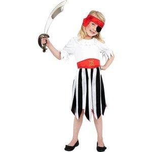 Piratbarn - maskeraddräkt klänning