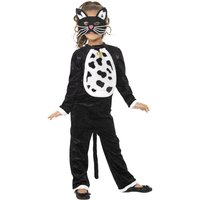 Katt maskeraddräkt bodysuit
