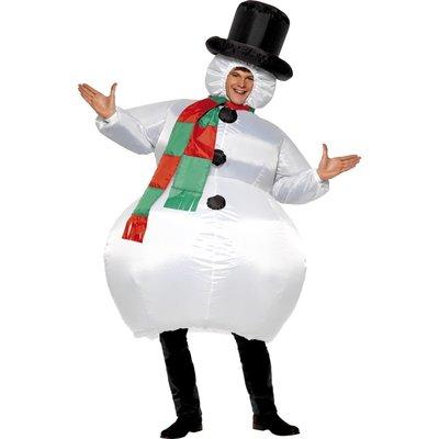 Uppblåsbar snögubbe
