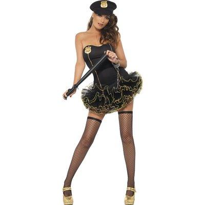 Het polis med balettkjol maskeraddräkt