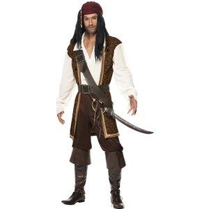 Seven seas pirate man - maskeraddräkt
