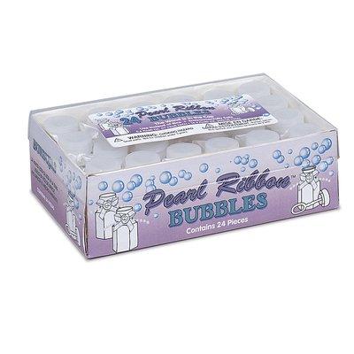 Bröllopsbubblor - Med rosett 24 st