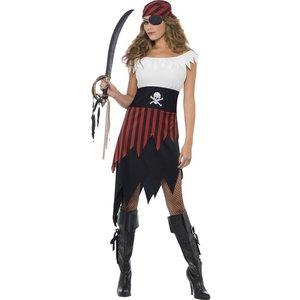 Het pirattjej maskeraddräkt