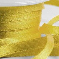 Guldfärgat band - 6mm - 25 m