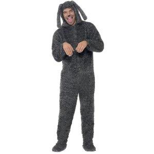 Fluffig Hund maskeraddräkt