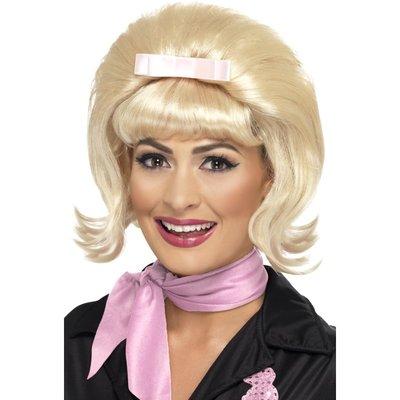1950-tals Beehive Bob peruk - blond