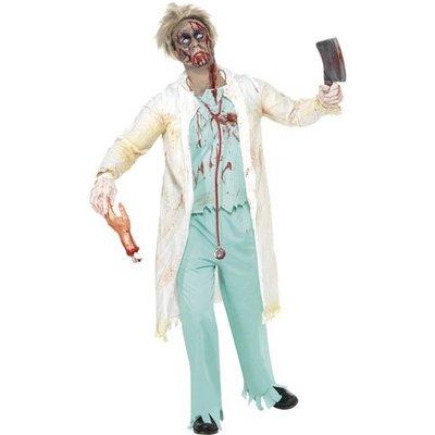 Zombiedoktor maskeraddräkt