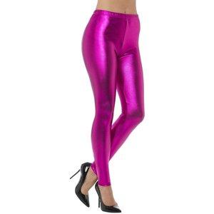 80-talet Disko leggings - Rosa - Medium