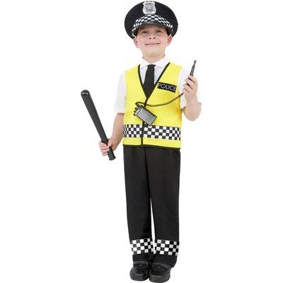 Poliskonstapel maskeraddräkt barn