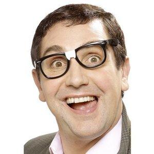 Nördglasögon med gips