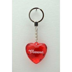 Diamant nyckelring - Mamma
