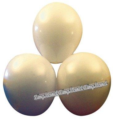 Vita ballonger - 25 st