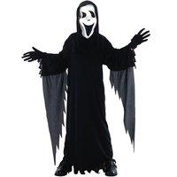 Skräckfilms-mask maskeraddräkt