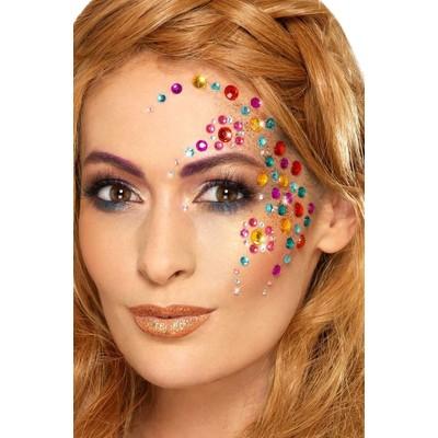 Make-Up FX ansikts juveler - Multifärgade