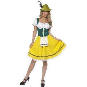 Oktoberfest maskeraddräkt tjej