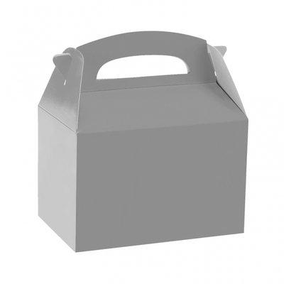Silverfärgad partybox