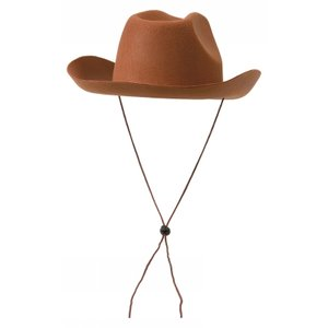 Cowboyhatt - Brun