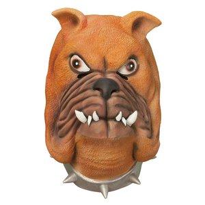 Bulldogmask i gummi