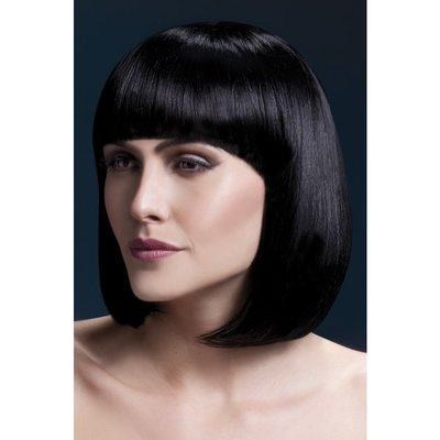 Elise peruk svart