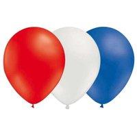 Ballongkombo - Röd-Vit-Blå 15-pack