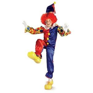 Clownen bubbles maskeraddräkt barn