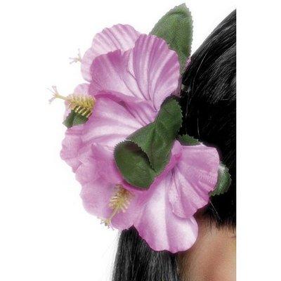 Hawaii-blomsterklämma rosa